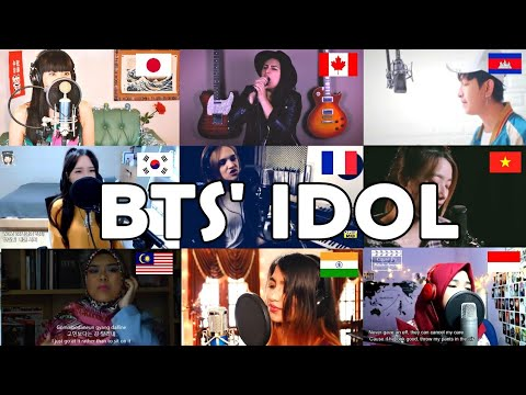 "Who Sang It Better : BTS - IDOL "" (canada,french,korea,vietnam,malaysia,indo,cambodia,india)"
