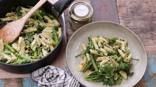 Goodness Greens Pesto Pasta Recipe