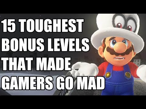 15 TOUGHEST Bonus Levels That Made Gamers Go MAD