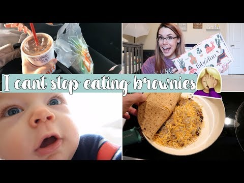 DAY IN THE LIFE OF A STAY AT HOME MOM WITH A BABY VLOG | Cook With Me & FabFitFun Unboxing