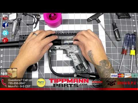 Tippmann Response Trigger kit - Installation on 98 Custom Platinum Series Marker