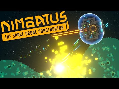 NEW SPACE SHIP BUILDER! - Nimbatus: The Space Drone Constructor First Look