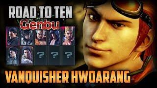 TEKKEN 7 | Road To Ten Genbu: Hwoarang Gets Vanquisher!