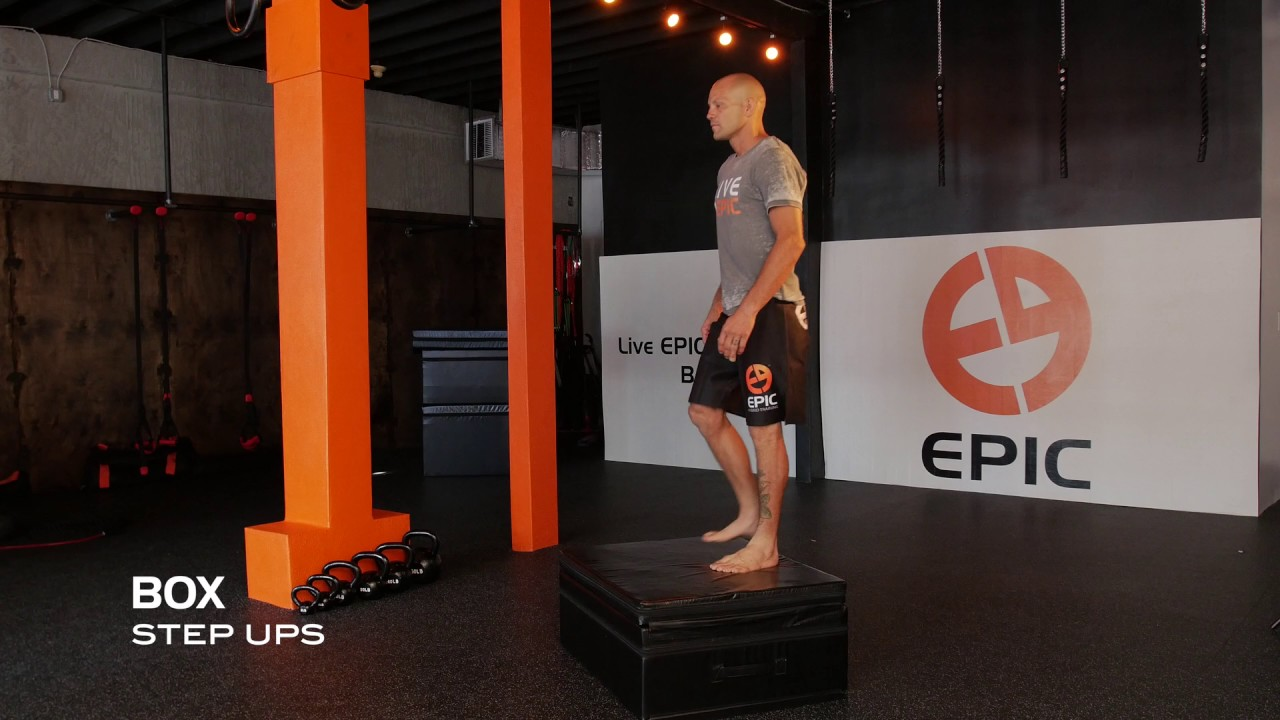 Box Step-Ups & Jumps | Plyo Box Workouts