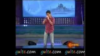 ABHIRAM singing  nanu preminchaananu mata... SMY.flv