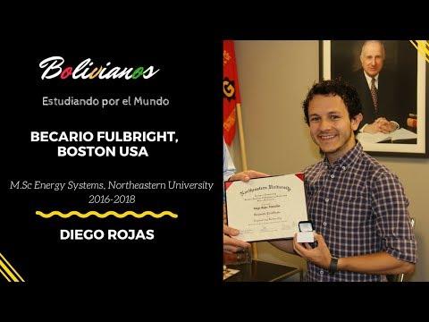 Diego Rojas, Becario Fulbright en Boston - Bolivianos Estudiando por el Mundo