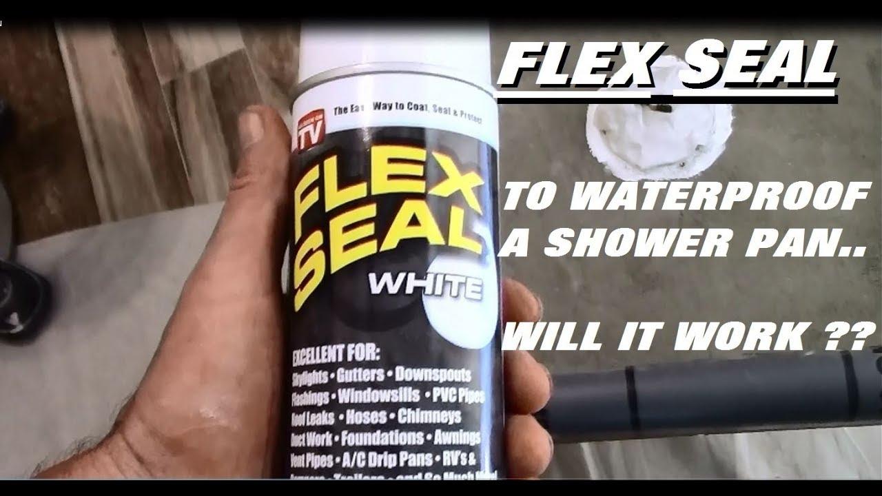 Flex Seal On Shower Youtube
