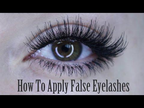 47e36fa420d How To Apply of False Eyelashes (Strip Lash, Individuals & Bottom Set) |  Shonagh Scott - YouTube