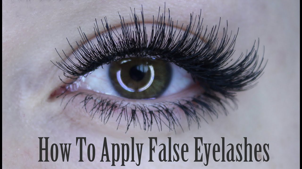 How To Apply Of False Eyelashes Strip Lash Individuals Bottom