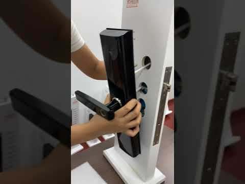 Smart Door Lock Installation Video From YOHEEN