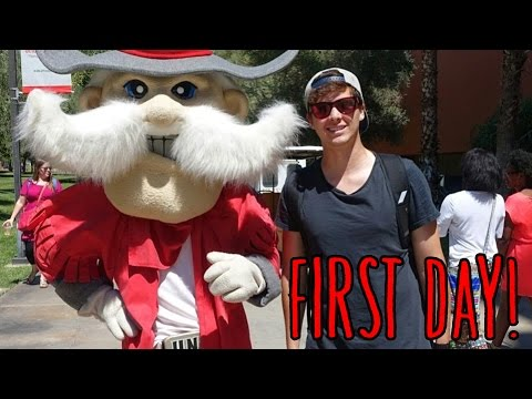 FIRST DAY OF SCHOOL AT UNLV!