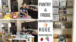 CLEAN & ORGANIZE WITH ME!! // PANTRY & FRIDGE // CLEANING MOTIVATION // Jessica Tull cleaning