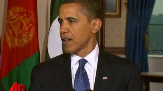 Obama: US Stands With Pakistan, Afghanistan