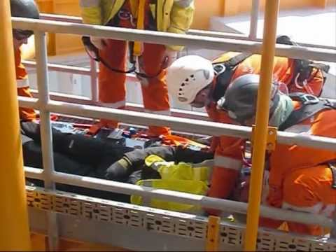 AJ Woods Offshore - Safety Exercise