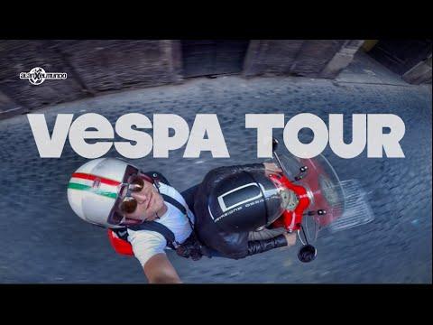 Roma En Vespa Italia 3 Youtube