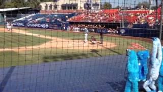 Joey Falcone 2-run double vs ASU 6/2/13