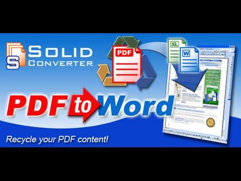 Le Huu Nhiem - Hướng dẫn đổi đuôi PDF sang Word - Solid Converter PDF