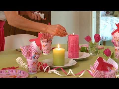 Inspiring table setting from Duni - Kids\' Party - YouTube