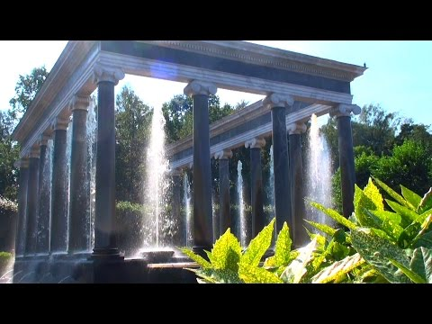 The Peterhof Palace - St. Petersburg Russia fountains