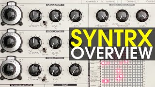 Erica Synths SYNTRX: Overview of functions, raw sound demos and patch ideas