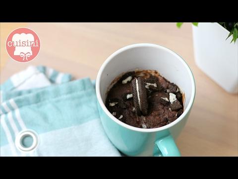 oreo tassenkuchen selber machen schokokuchen rezept ohne ei 1 minute mikrowelle cuisini. Black Bedroom Furniture Sets. Home Design Ideas