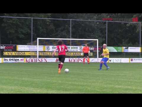 Viboa Tegen VV Buitenpost 12-09-2015