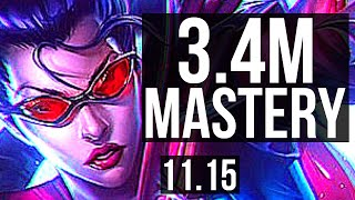 VAYNE \u0026 Nautilus vs AKSHAN \u0026 Thresh (ADC) | 3.4M mastery, 1000+ games, 8/2/6 | KR Master | v11.15