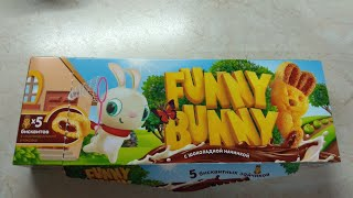 Funny Bunny детские печенья кекс бисквит