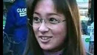 浜崎あゆみ -15 Year Old Interview (She Wears Specs!)