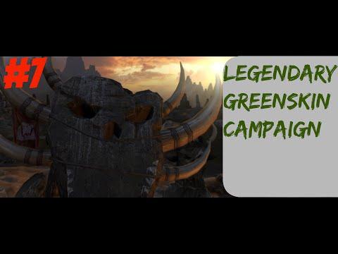 Pure Legendary Greenskins Campaign #7 --Total War: Warhammer