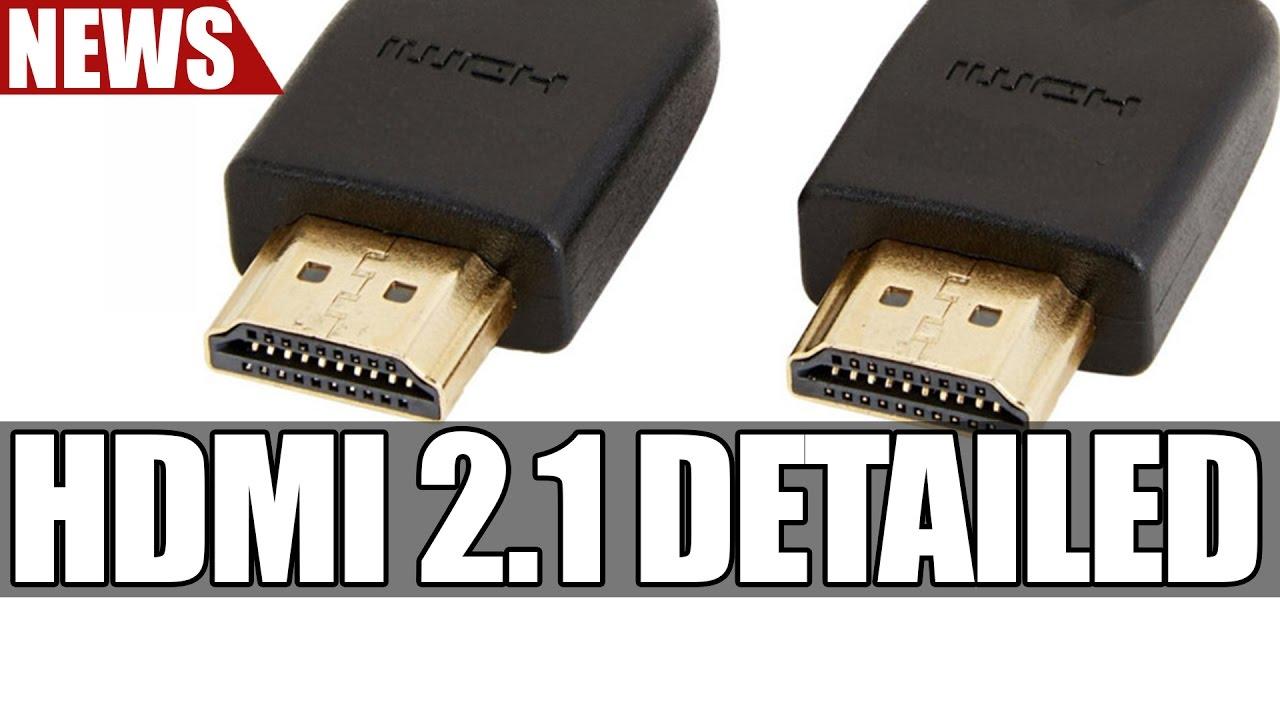 Hdmi 2 1 Detailed 8k 60hz 4k 120hz Dynamic Hdr