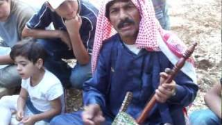 Bedouin Playing the Oud Part II - Peace Corps Jordan - 'Ajloun, Jordan Thumbnail
