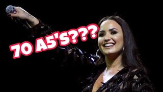 ALL Demi Lovato's Attempts Of The Sorry Not Sorry High Note (LIVE!!!)