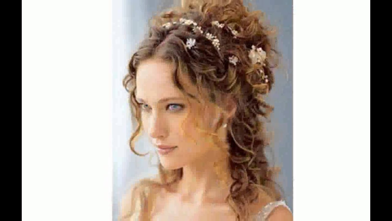 Favorito Pettinature Sposa Capelli Lunghi - nuovi - YouTube ZH25