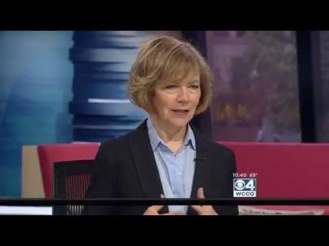 [WCCO] Lt. Governor Tina Smith Interview with Esme Murphy