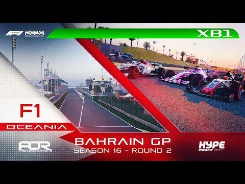 F1 2018 | AOR Hype Energy F1 League | XB1 Oceania S3 | R2: Bahrain GP