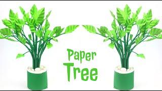 Tree DIY | Paper Tree DIY | Paper Leaves | Paper Crafts For School | Paper Craft |  Paper Tree