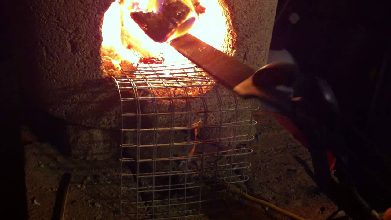 forging steel with a rocket stove hell yes youtube