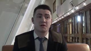 INTRODUCING NEW MTK SCOTLAND SIGNING AIDEN McGLYNN ON FUTURE PLANS & RICKY BURNS v JULIUS INDONGO