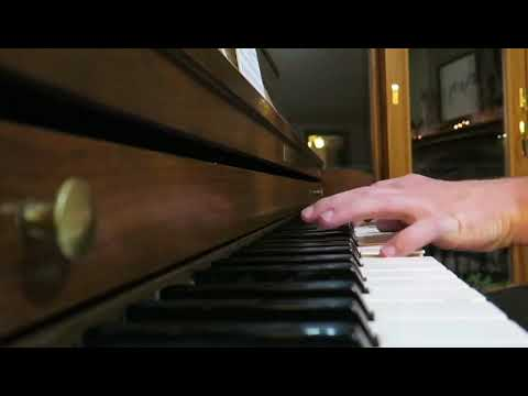 Blessed Assurance Jesus Is Mine Piano Solo Mennonite Anabaptist Hymn Fanny Crosby Music Singing Song