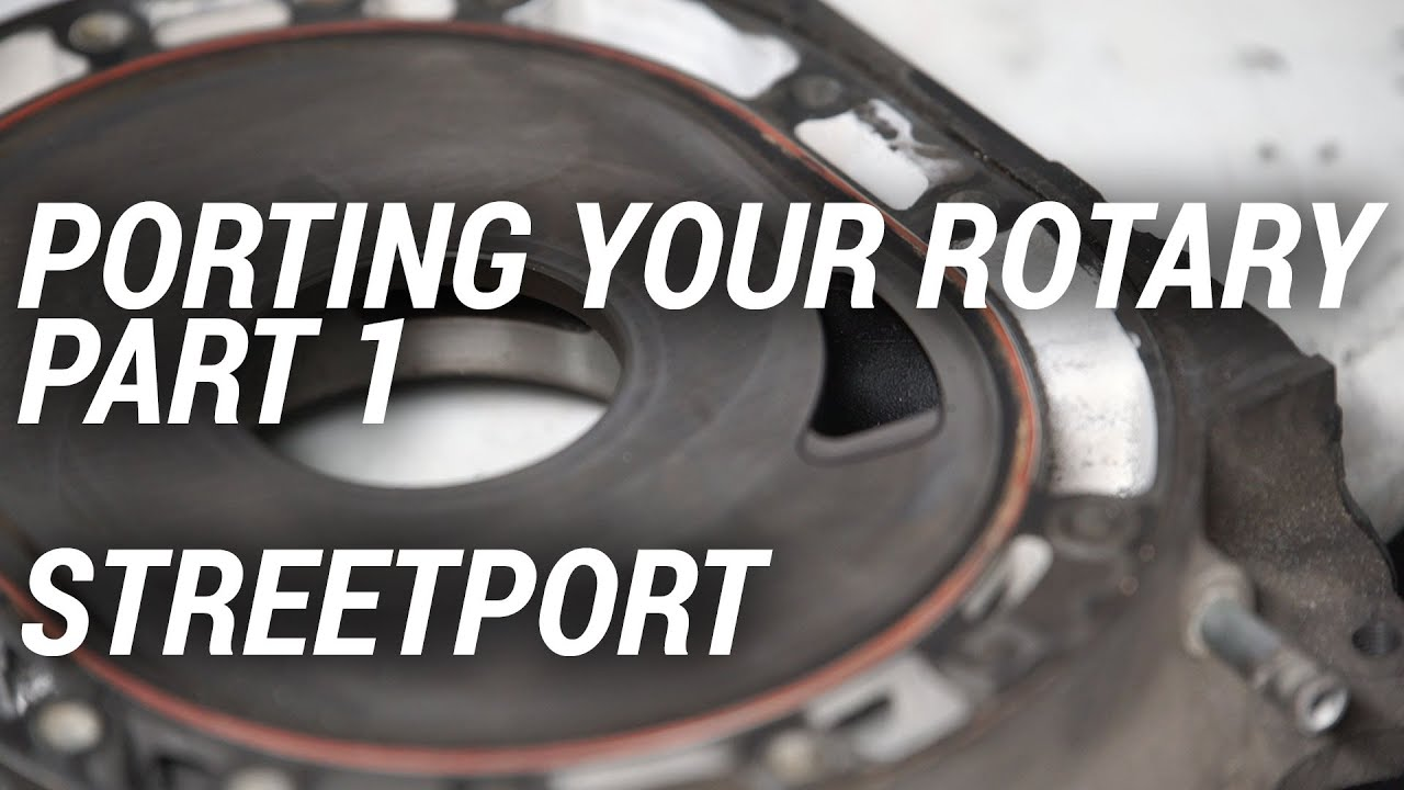 How to streetport a rotary engine part one youtube how to streetport a rotary engine part one maxwellsz