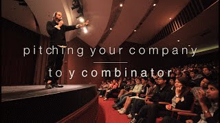 How to Pitch Y Combinator