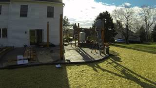 Paver Patio And Pergola Installation