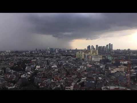 JAKARTA DAY AND NIGHT: STORY OF DANCING RAIN AND SHY SUN!