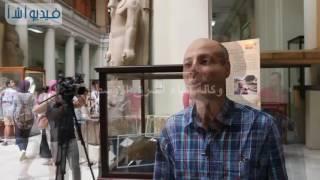 بالفيديو: أمين بالمتحف المصرى اكتشاف بردية حديثة بوادي جرف ترجع إلى عصر الملك خوفو