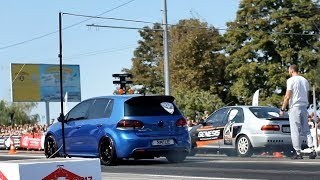 VW Golf R vs Honda Civic Turbo