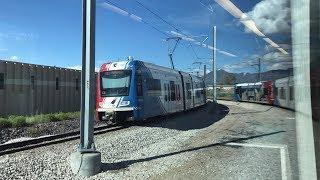 UTA HD 60fps: Riding Siemens S70 LRV on TRAX Red Line (5/9/19)