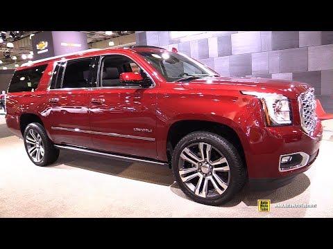 2018 GMC Yukon XL Denali - Exterior and Interior Walkaround - 2018 New York Auto Show