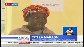 Mwanamke amnyonyesha mtoto mdogo kwa nia ya kumuambukiza virusi vya HIV