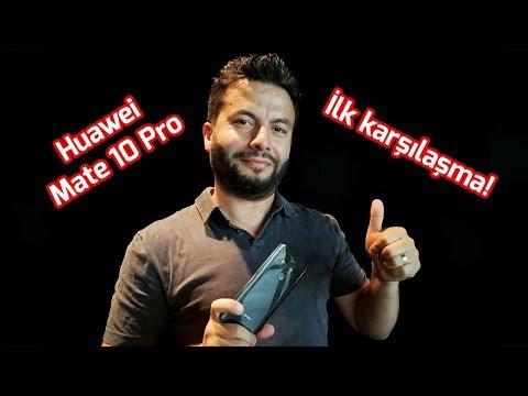 Yapay zekalı telefon! - Huawei Mate 10 Pro ilk karşılaşma!